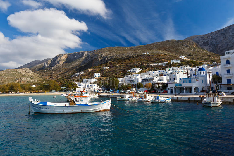 Amorgos island. royalty free stock images