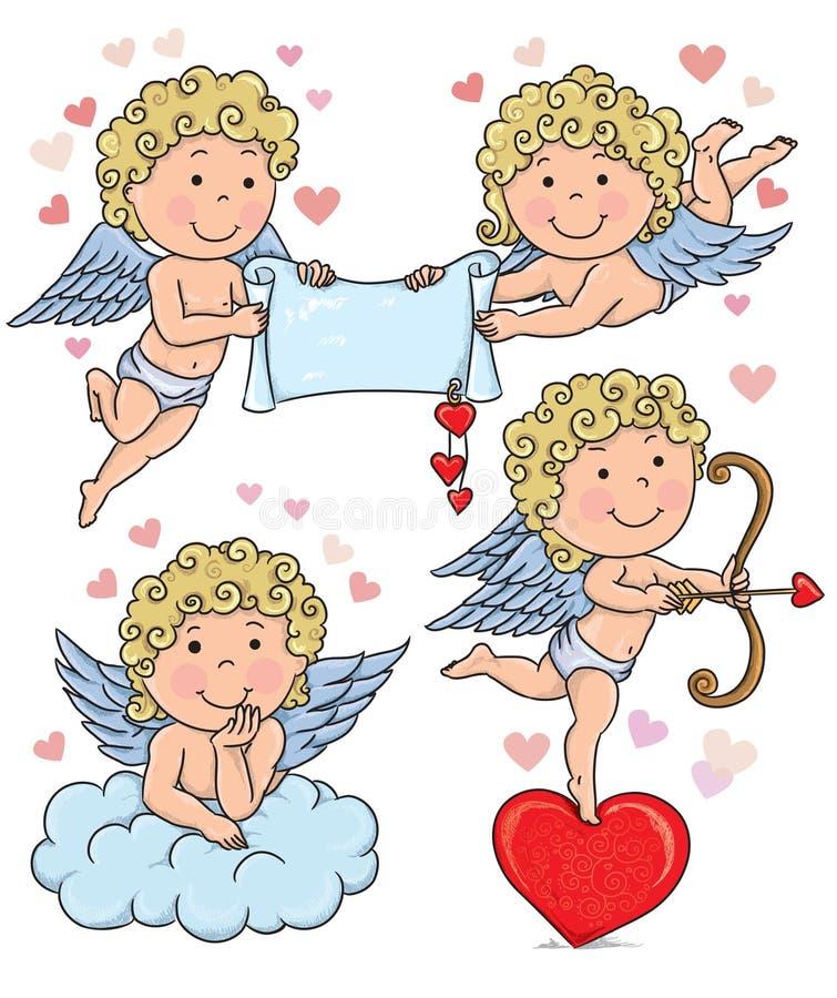 Amorków dzieciaki 2 ilustracji