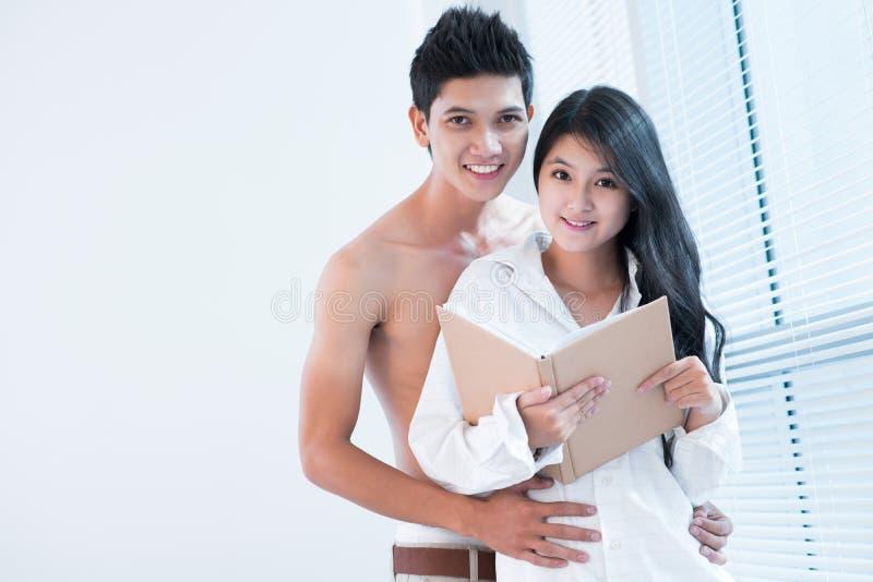 Amorous Messwert stockfoto
