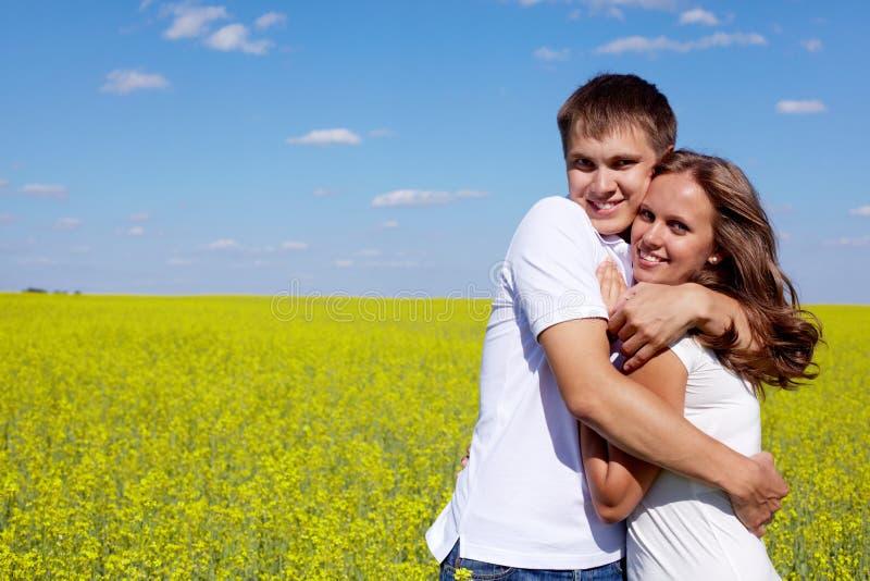 Amorous Paare stockfoto