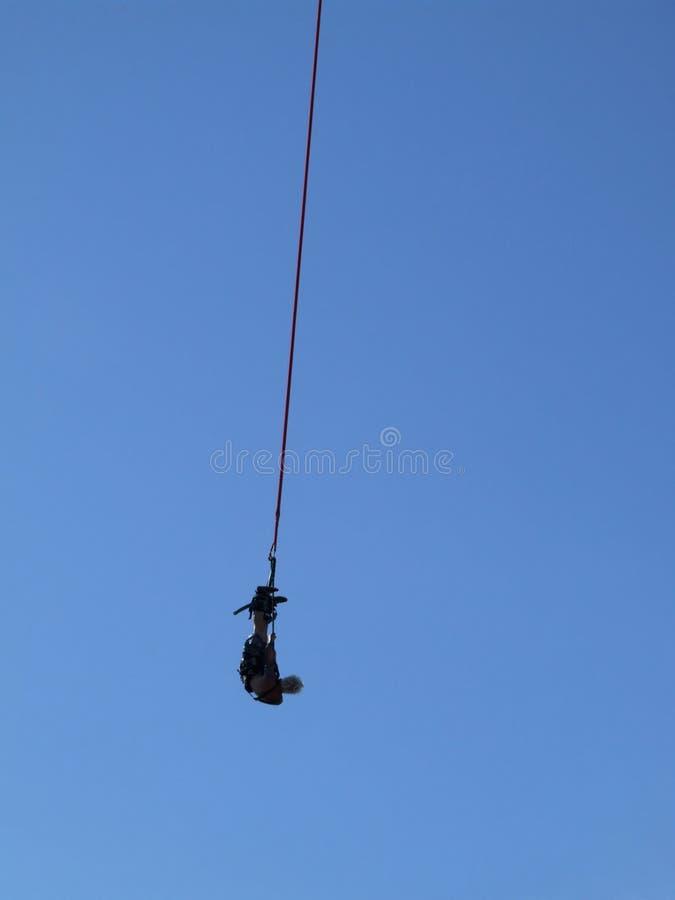 Amortiguador auxiliar que salta 02 foto de archivo libre de regalías