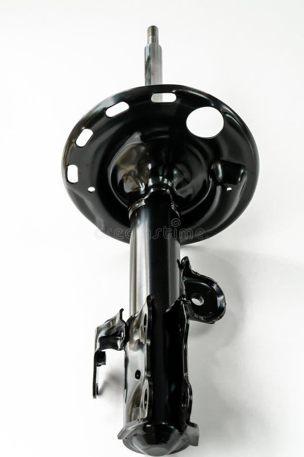 Amortiguador de choque del coche aislado imagenes de archivo