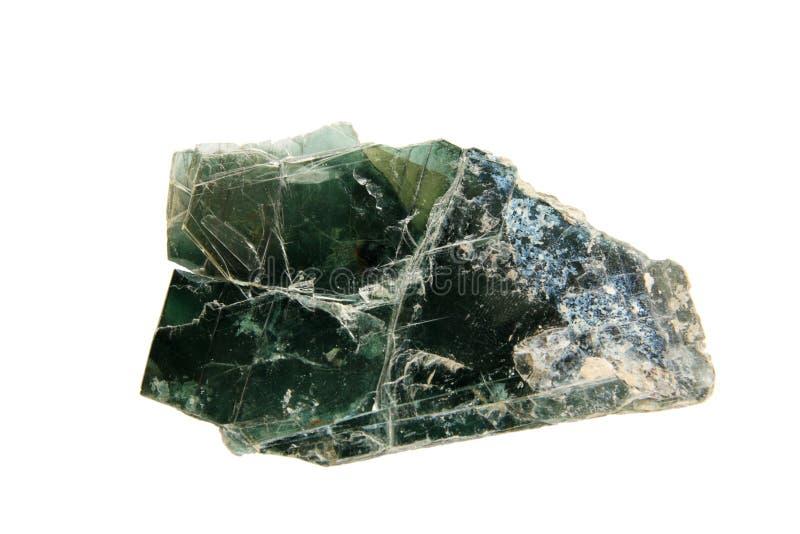 Amostra de mineral de mica de Chlinochlore fotografia de stock