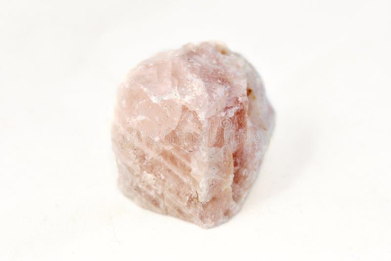 Amostra do cristal de rocha imagem de stock