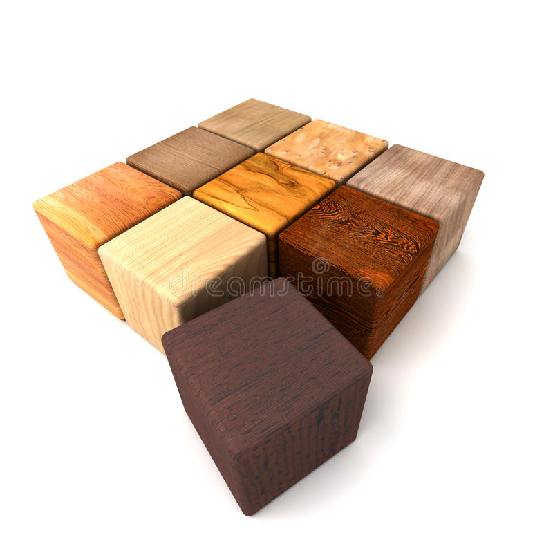 Download Amostras de madeira ilustração stock. Ilustração de sumário - 10067357