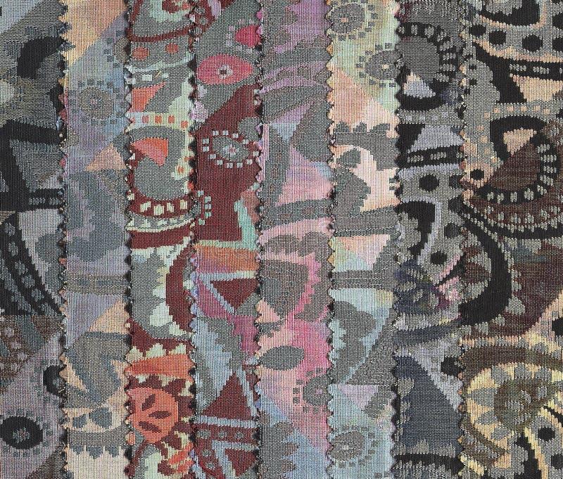 Amostras de matérias têxteis. fotografia de stock royalty free