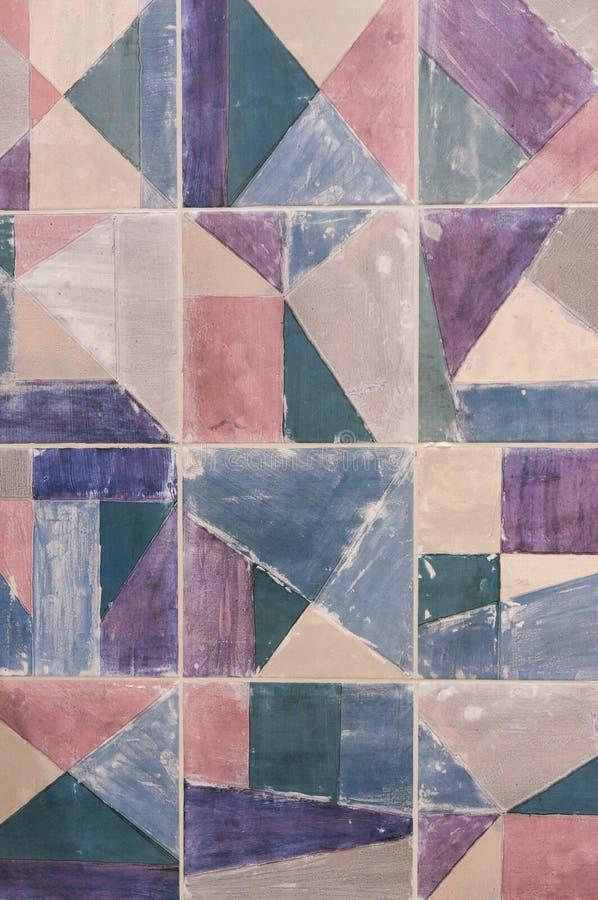 Amostras de um azulejo na loja fotos de stock