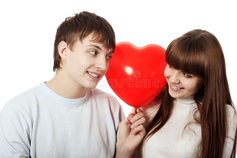 Amour à la première vue images stock