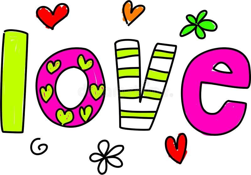 Amour illustration libre de droits