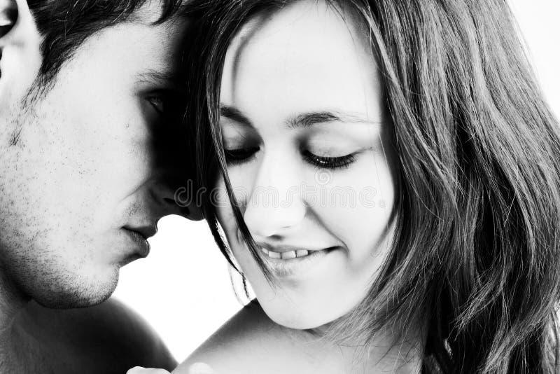 Amour contrasté image libre de droits