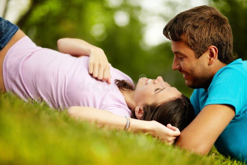 Amour d'été photo libre de droits