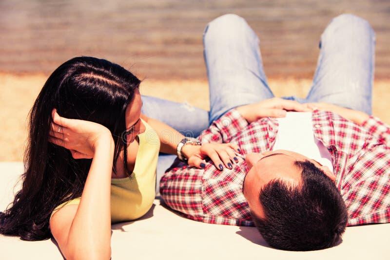 Amour d'été image libre de droits
