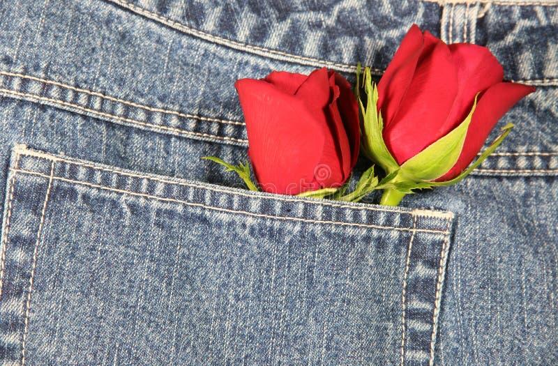 Amour dans ma poche (horizontale) photos libres de droits