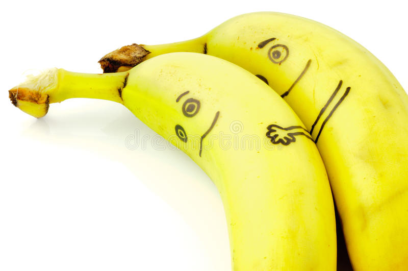 Amour de banane image stock