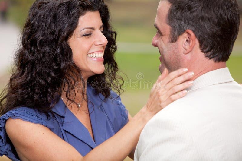 Amour de couples photos libres de droits