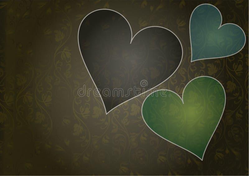 amour de fond illustration stock