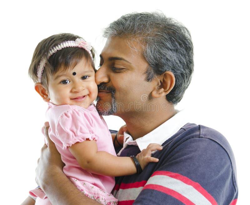 Amour de père photo libre de droits