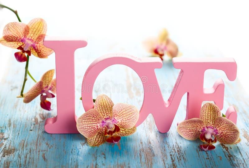Amour de Word photo stock