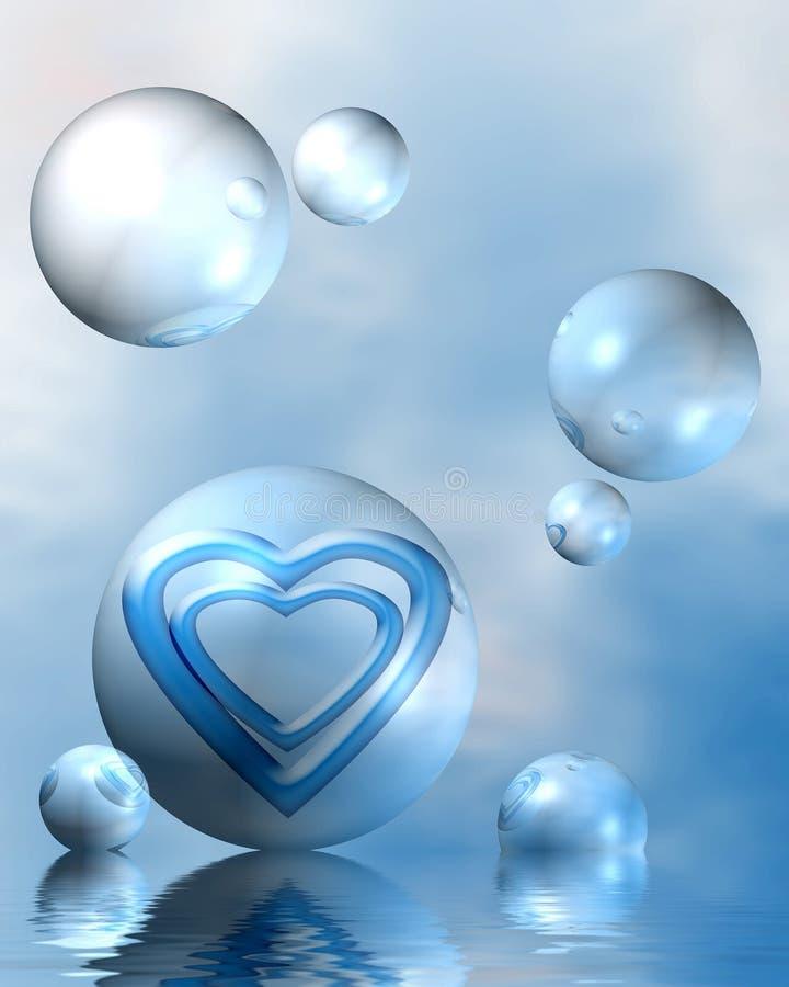 Amour divin illustration libre de droits
