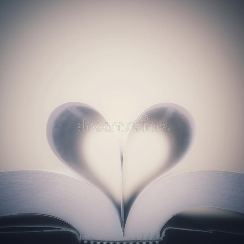 Amour du livre image stock