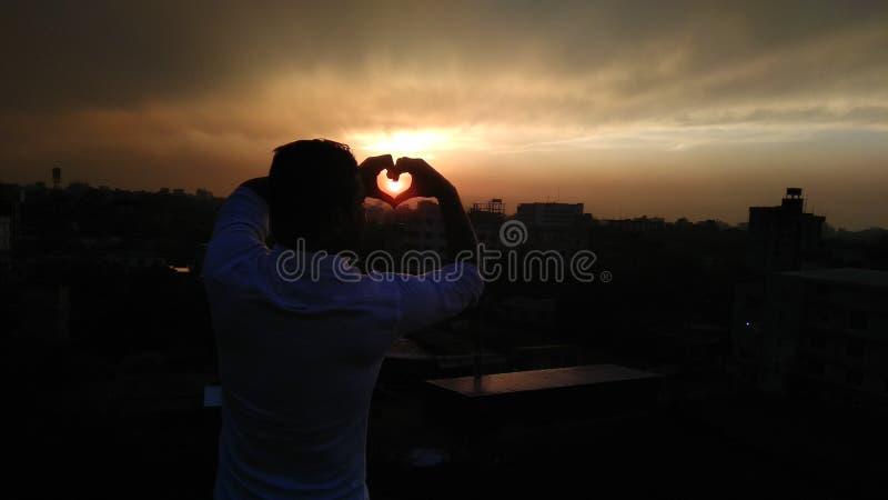 Amour du soleil photos libres de droits
