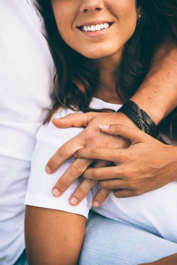 Amour et affection de couples image libre de droits