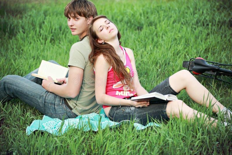 Amour et amoureux image libre de droits