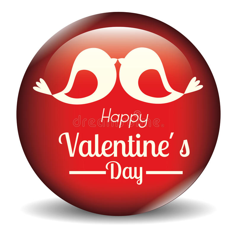 Amour et jour de valentines illustration libre de droits