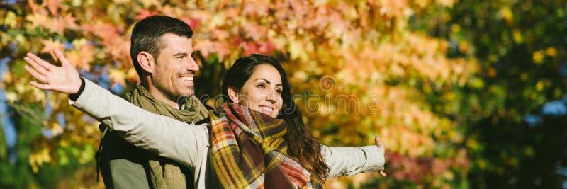 Amour et loisirs d'automne image stock