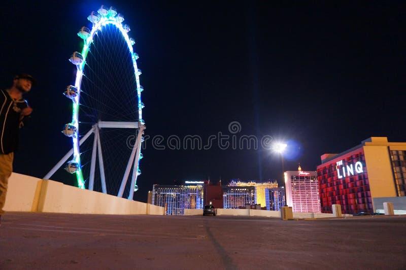 Amour et lumière de Las Vegas images libres de droits
