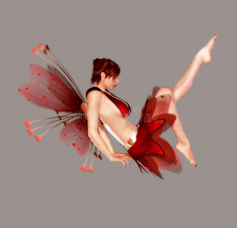 amour féerique illustration stock
