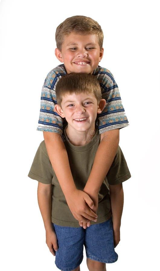 Amour fraternel 1 photographie stock libre de droits