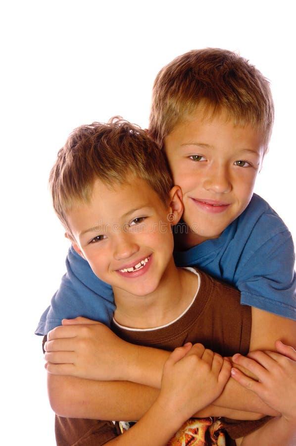 Amour fraternel photo libre de droits