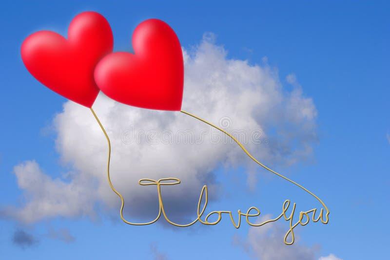 Amour organique illustration libre de droits