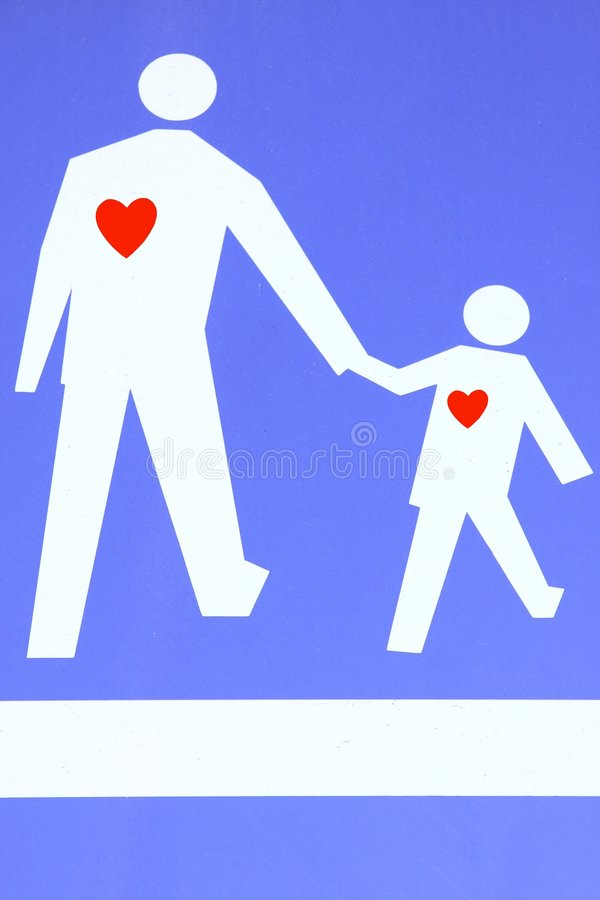 Amour parental photographie stock