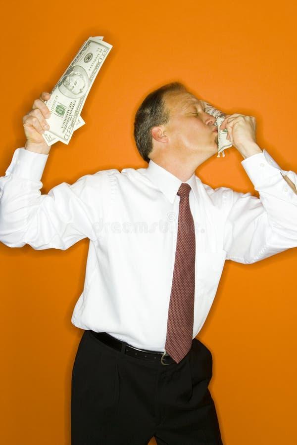 Amour pour l'argent photo stock