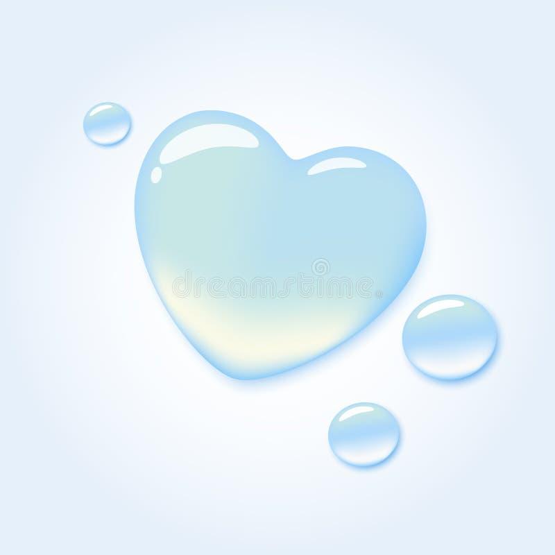 Amour pur illustration stock