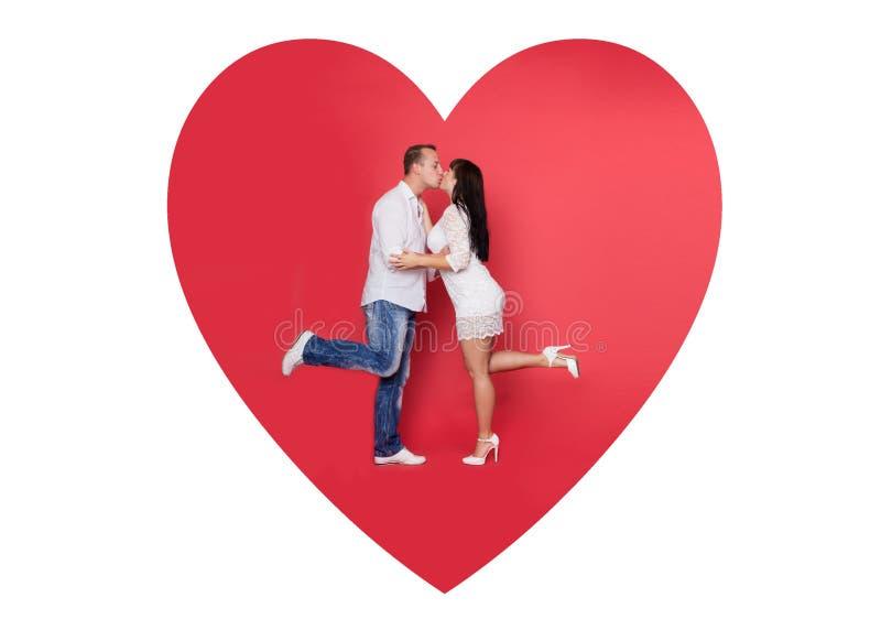 Amour rouge de valentine photo stock