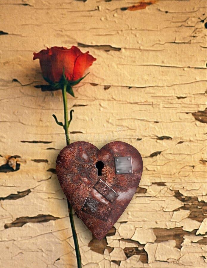 Amour rouill? photo libre de droits