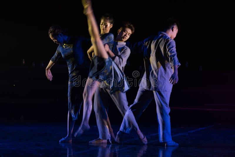 Amour séparant 4--Âne de drame de danse obtenir l'eau image stock