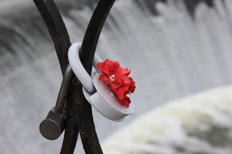 Amour sur la rivière image libre de droits