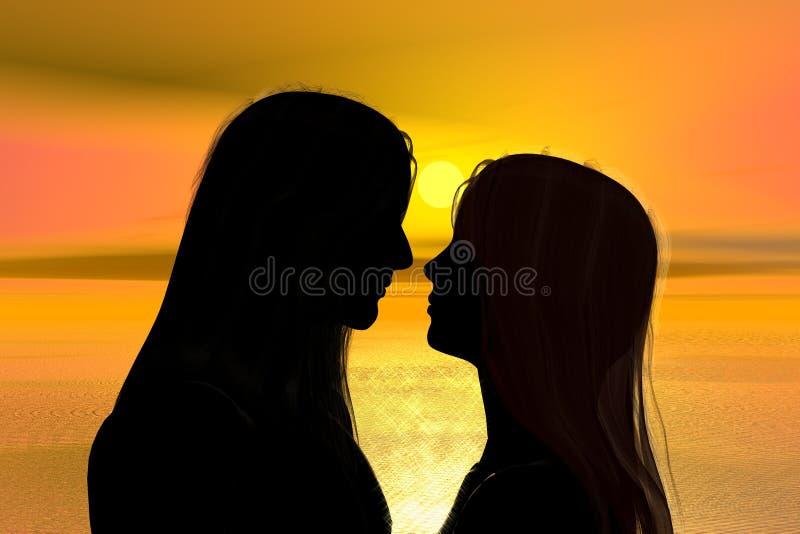Amour vrai image stock