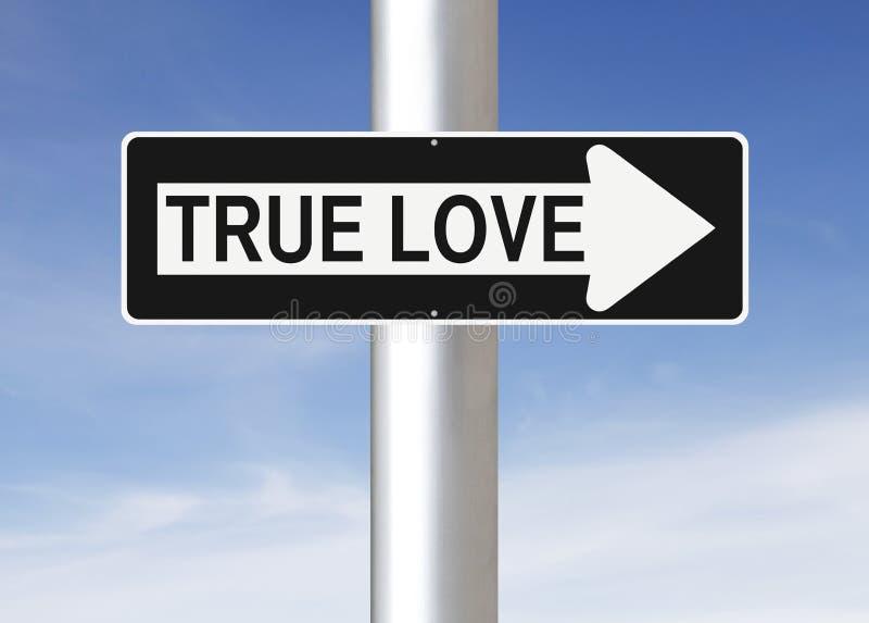 Amour vrai de cette façon photographie stock libre de droits