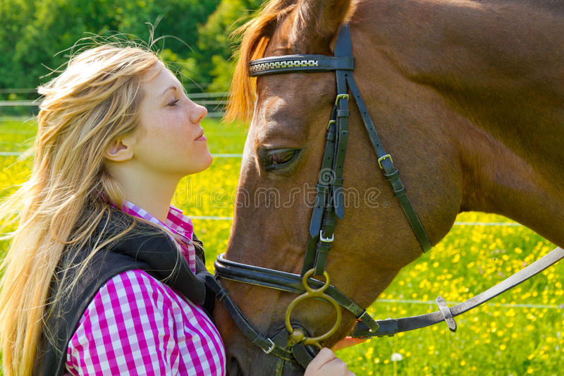 Amoureux d'animal familier photo libre de droits
