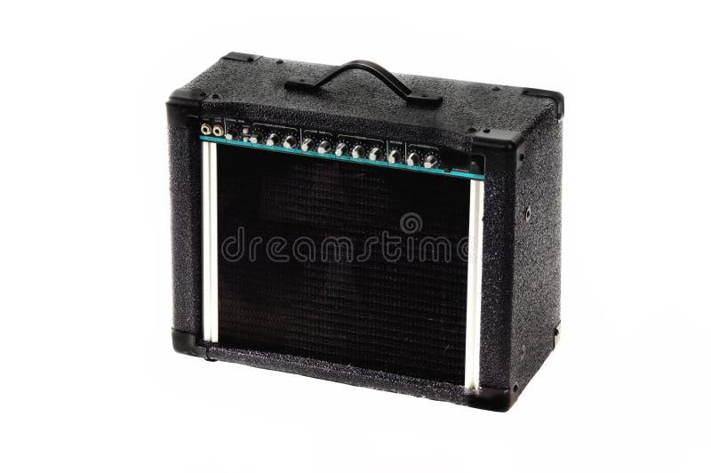 Download Amp ηλεκτρική κιθάρα στοκ εικόνες. εικόνα από εξοπλισμός - 395102