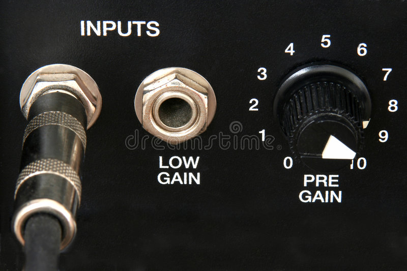 Amp Controls stock images
