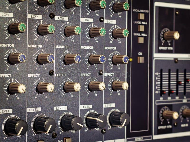 amp rękojeści panel zdjęcie royalty free
