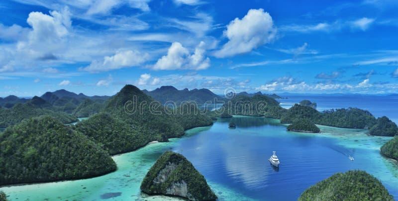 Ampat Indonésie de rajah photo libre de droits