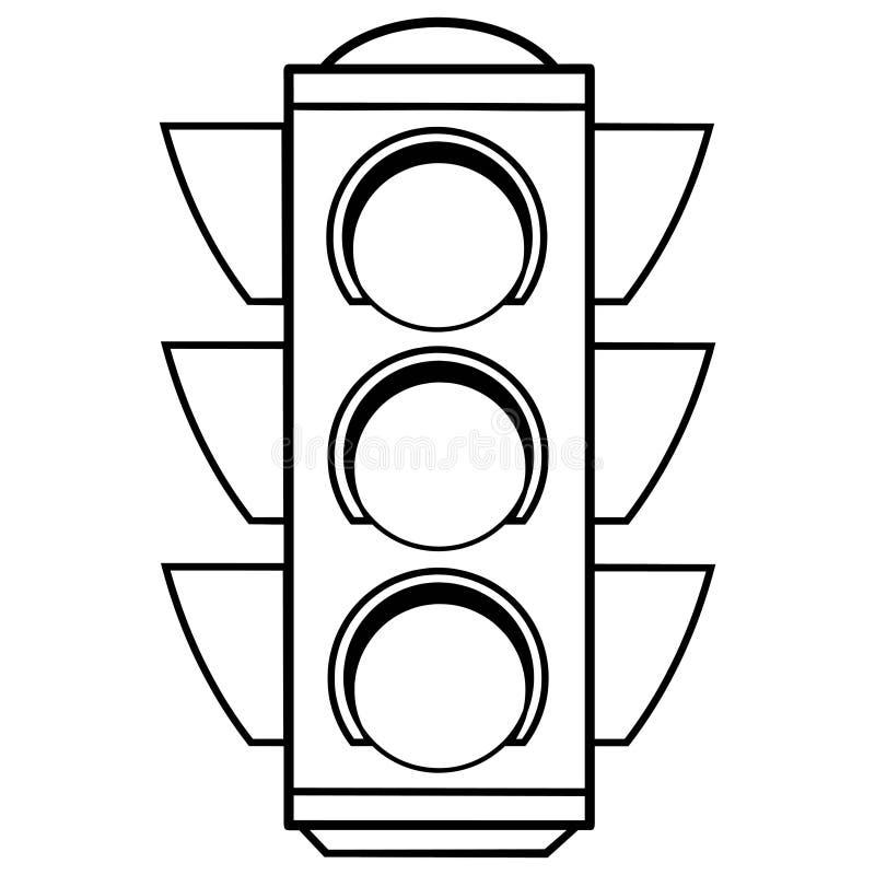 ampelillustration vektor abbildung illustration von