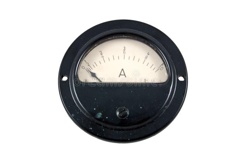 Amperímetro foto de archivo libre de regalías